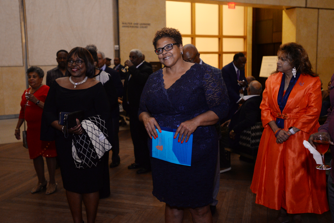 The Barnes Foundation Reception